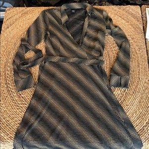 Flattering Express Wrap Dress